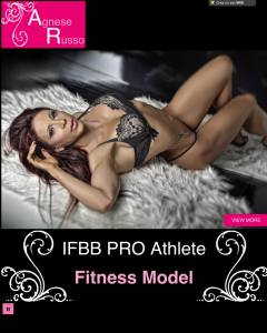 Agnese Russo IFBB pro Figure